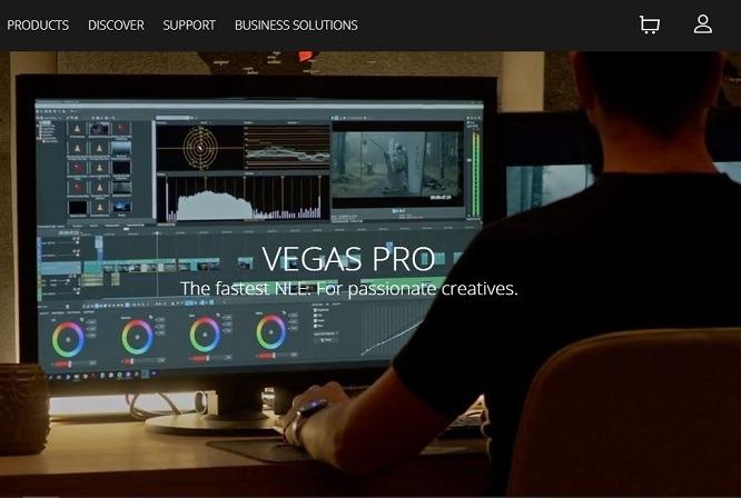 phần mềm Sony VEGAS Pro 18